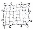 AMiO 01272 Gepäckraumnetze schwarz, Länge: 70cm, Breite: 90cm niedrige Preise - Jetzt kaufen!