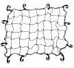 AMiO 01273 Gepäckraumnetze schwarz, Länge: 120cm, Breite: 80cm niedrige Preise - Jetzt kaufen!