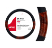 01358 Steering wheel protectors Ø: 37-39cm, PP (Polypropylene), Black, Brown from AMiO at low prices - buy now!
