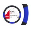 01359 Fundas de volante negro, azul, Ø: 37-39cm, PP (polipropileno) de AMiO a precios bajos - ¡compre ahora!