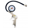 01279 Tyre pressure gauges 0 - 10bar, Connecting thread: 1/4 BSP, Pneumatic, 350mm, with dial gauge from AMiO at low prices - buy now!