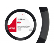 01360 Protector de volante Ø: 37-39cm, PP (polipropileno), negro, gris de AMiO a precios bajos - ¡compre ahora!