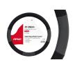 01360 Coberturas de volante cinzento, preto, Ø: 37-39cm, PP (polipropileno) de AMiO a preços baixos - compre agora!