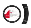 01361 Couverture de volant noir, gris, Ø: 37-39cm, PP (polypropylène) AMiO à petits prix à acheter dès maintenant !