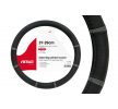 01361 Prevleka za volanski obroč crna barva, siva, ?: 37-39cm, PP (Polypropylen) od AMiO po nizkih cenah - kupite zdaj!