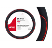 01362 Couverture de volant noir, rouge, Ø: 37-39cm, PP (polypropylène) AMiO à petits prix à acheter dès maintenant !