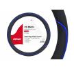 01363 Couvercle du volant bleu, noir, Ø: 37-39cm, PP (polypropylène) AMiO à petits prix à acheter dès maintenant !