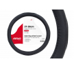 AMiO 01365 Lenkrad Schonbezug schwarz, Ø: 37-39cm, PVC zu niedrigen Preisen online kaufen!