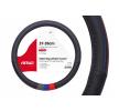 AMiO 01368 Lenkradabdeckung blau, grau, rot, schwarz, Ø: 37-39cm, Eco-Leder reduzierte Preise - Jetzt bestellen!