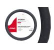 01378 Ohjauspyörän suojus Musta, Ø: 37-39cm, PVC AMiO-merkiltä pienin hinnoin - osta nyt!