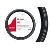 AMiO 01380 Lenkradschutz schwarz, weiß, Ø: 37-39cm, Eco-Leder reduzierte Preise - Jetzt bestellen!
