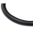 AMiO 01383 Lenkrad Abdeckung schwarz, Ø: 39-41cm, Leder reduzierte Preise - Jetzt bestellen!
