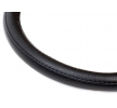 01383 Steering wheel protectors Black, Ø: 39-41cm, Leather from AMiO at low prices - buy now!