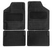 AMiO 01709 Fußraumschalen Gummi, vorne und hinten, Menge: 4, schwarz zu niedrigen Preisen online kaufen!