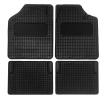 AMiO 01710 Autofußmatten Gummi, vorne und hinten, Menge: 4, schwarz zu niedrigen Preisen online kaufen!