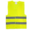 01734 Gilet de haute visibilité 1, L, Velcro, jaune, Polyester AMiO à petits prix à acheter dès maintenant !