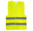 01734 Varselvästar 1, L, Velcro, gul, Polyester från AMiO till låga priser – köp nu!