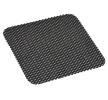 AMiO 01725 Rutschfeste Armaturen-Matten Länge: 19cm, Breite: 22cm, schwarz, PU (Polyurethan) reduzierte Preise - Jetzt bestellen!