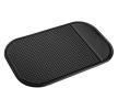 01726 Antislip-dashboardmatjes Lengte: 8.5cm, Breedte: 14.5cm, Zwart, Silicoon van AMiO aan lage prijzen – bestel nu!