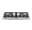 01163 Porta matrícula plateado de UTAL a precios bajos - ¡compre ahora!