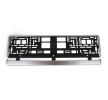 01646 Number plate frames Silver, Coated from UTAL at low prices - buy now!