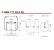 ABM77133K55 NEOTEC Bälgar, luftfjädring – köp online
