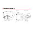 ABM93036A70 NEOTEC Bälgar, luftfjädring – köp online