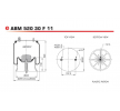 ABM52030F11 NEOTEC Bälgar, luftfjädring – köp online