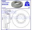 BG9356 DELPHI Bremsscheibe für RENAULT TRUCKS online bestellen