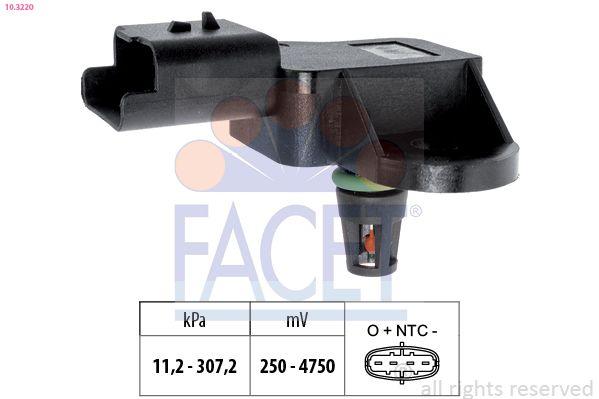 Original MERCEDES-BENZ Map Sensor 10.3220