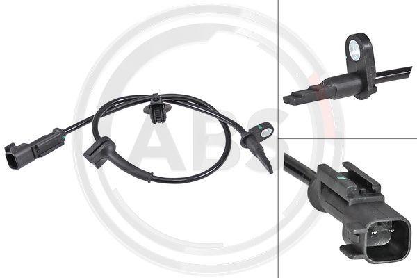 A.B.S.: Original ABS Sensor 30169 (Länge: 530mm)