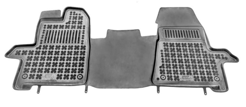 REZAW PLAST: Original Passgenaue Fußmatten 200617 ()