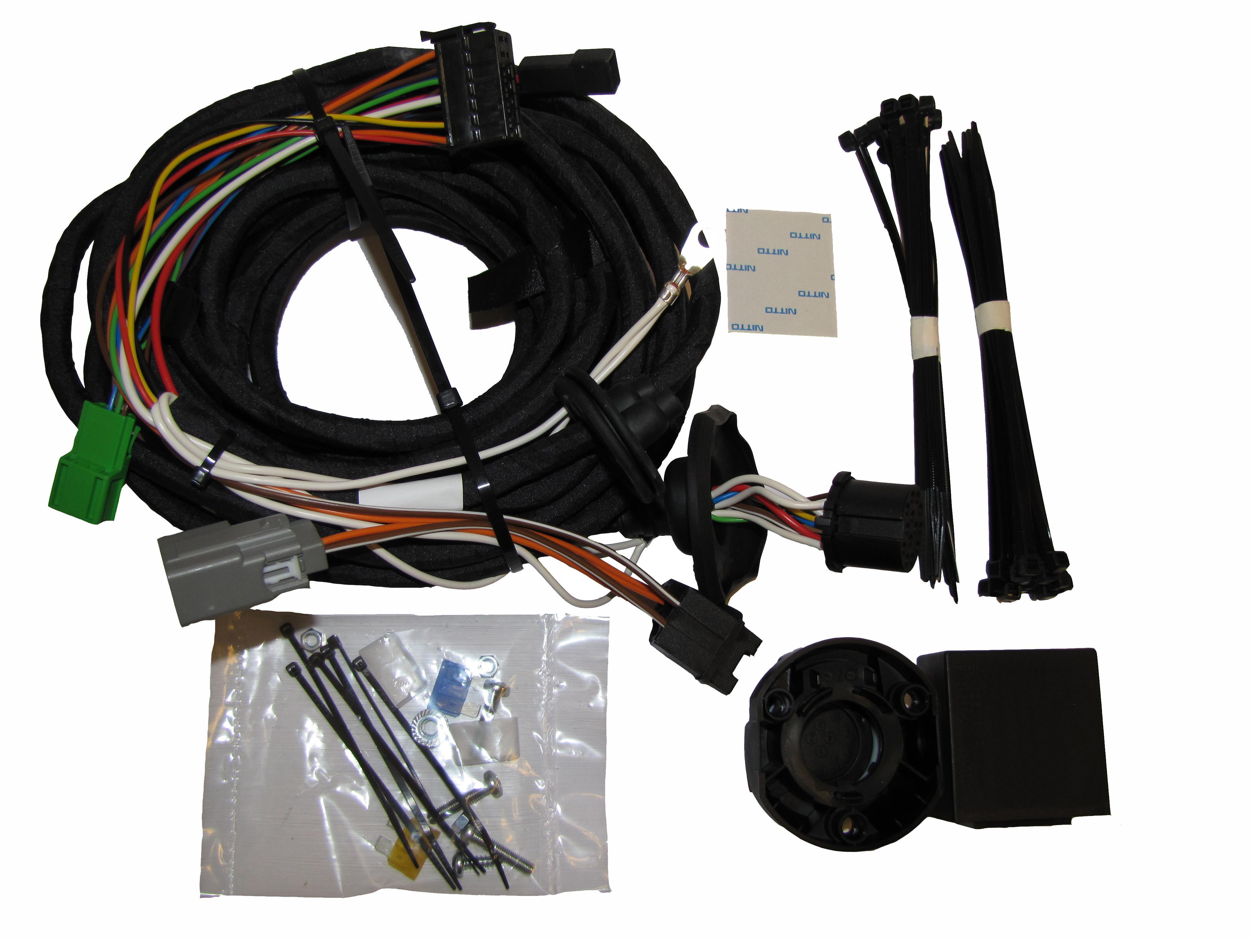 Kup GDW Zestaw elektryczny, zestaw zaczepu przyczepy SET0662 ciężarówki