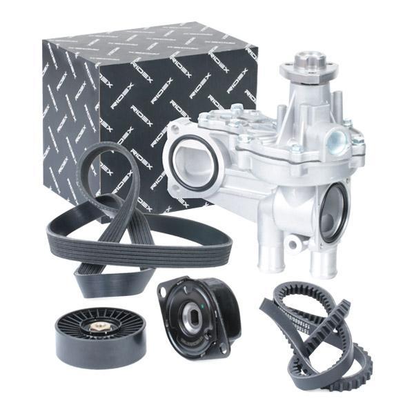 RIDEX   Wasserpumpe + Keilrippenriemensatz 4172P0066