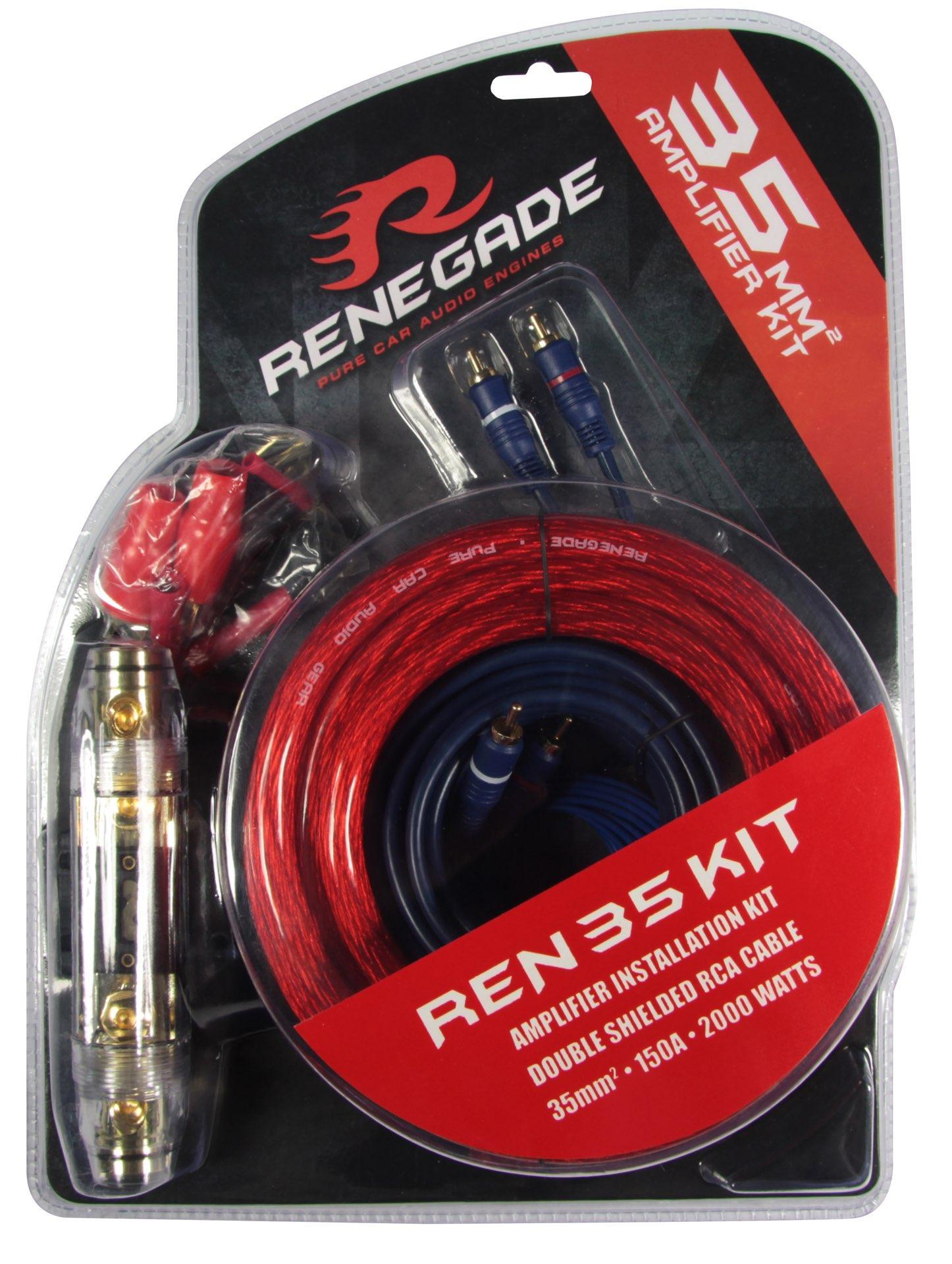 REN35KIT Кабели за усилвател RENEGADE - опит