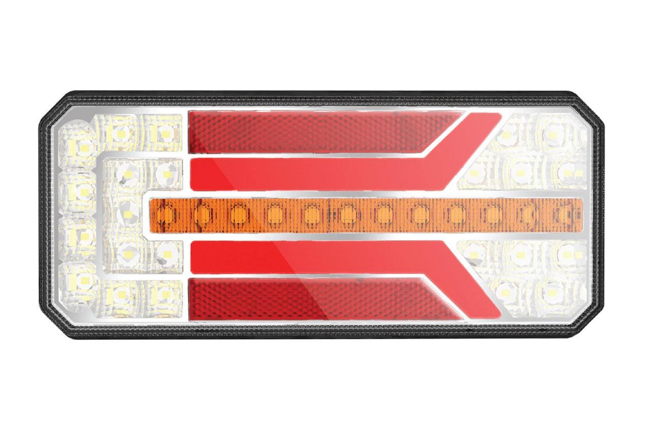 AMiO RCL-01-LR Lampa tylna zespolona z tyłu 02363 KAWASAKI