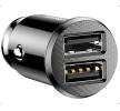 CCALL-ML01 Chargeur téléphone Nombre d'entrées/sorties: 2x USB, noir Baseus à petits prix à acheter dès maintenant !