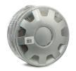 ALFA 13 Wheel covers Silver, 13Inch from LEOPLAST at low prices - buy now!