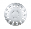 CAPRI 13 Hubcaps 13 Inch Silver from LEOPLAST at low prices - buy now!
