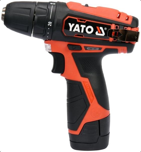 YT-82901 YATO Batterie-Kapazität: 2.0Ah, Spannbereich Bohrfutter von: 0.8mm, Spannbereich Bohrfutter bis: 10mm, Drehzahl bis: 0-13001/min Akkuschrauber YT-82901 günstig kaufen