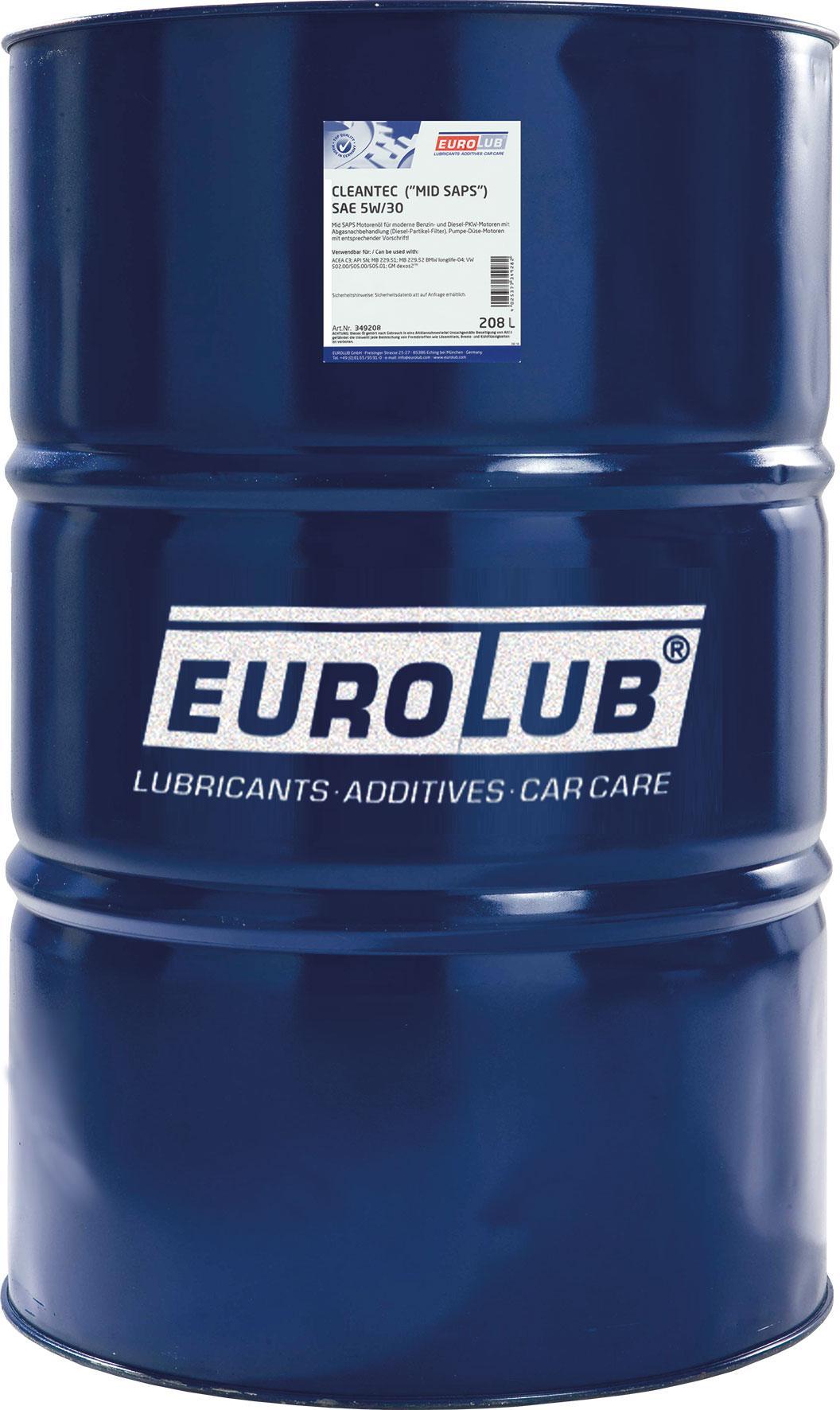 Motoröl EUROLUB 349208