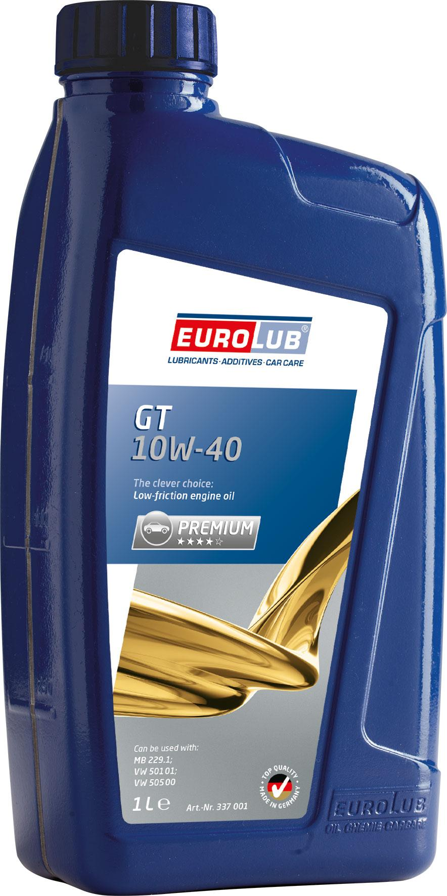 337001 EUROLUB GT 10W-40, 1l Motoröl 337001 günstig kaufen