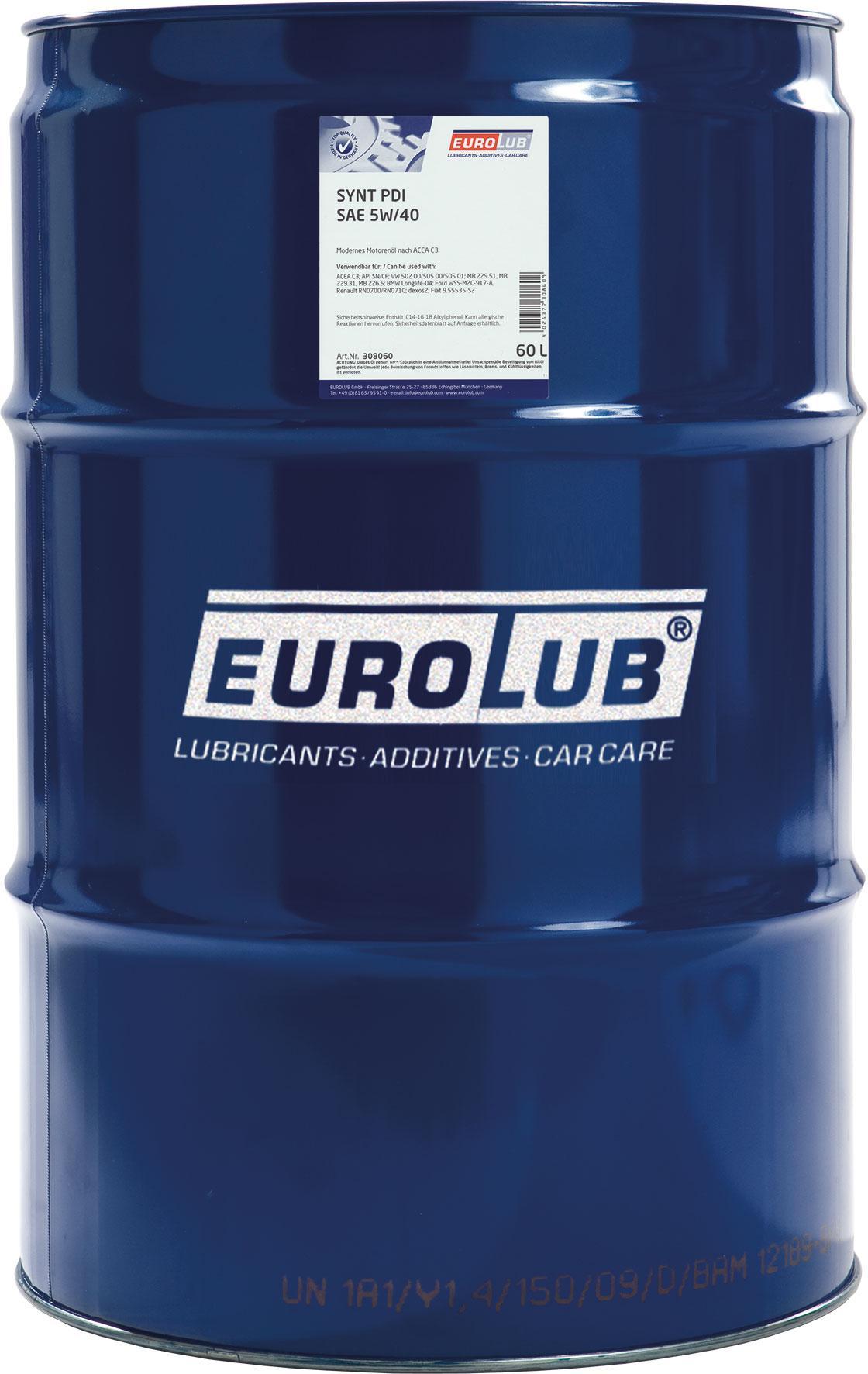Motoröl EUROLUB 308060