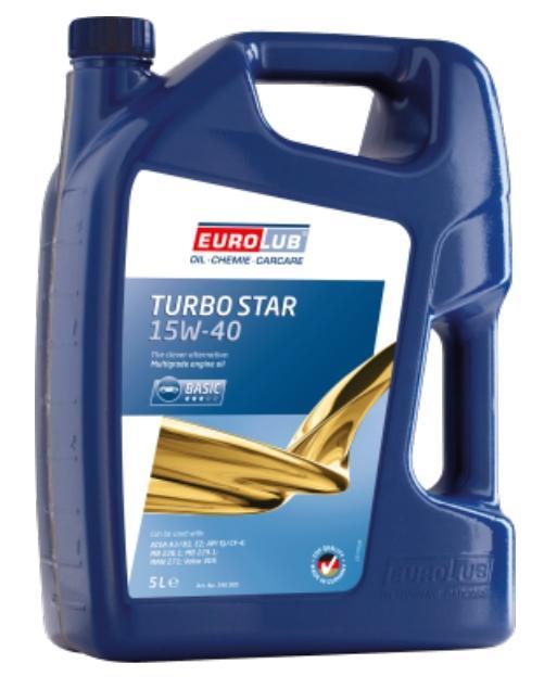 340005 EUROLUB TURBO STAR 15W-40, 5l Motoröl 340005 günstig kaufen