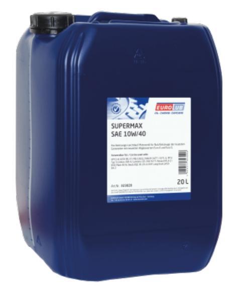 323020 EUROLUB SUPERMAX 10W-40, 20l Motoröl 323020 günstig kaufen
