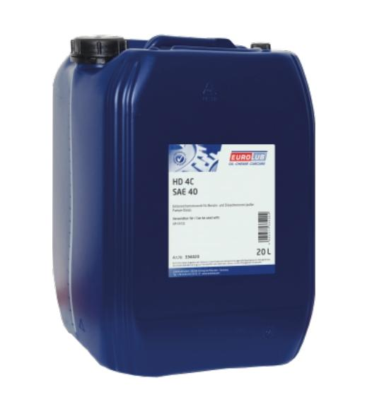 EUROLUB Motoröl für DAF - Artikelnummer: 334020