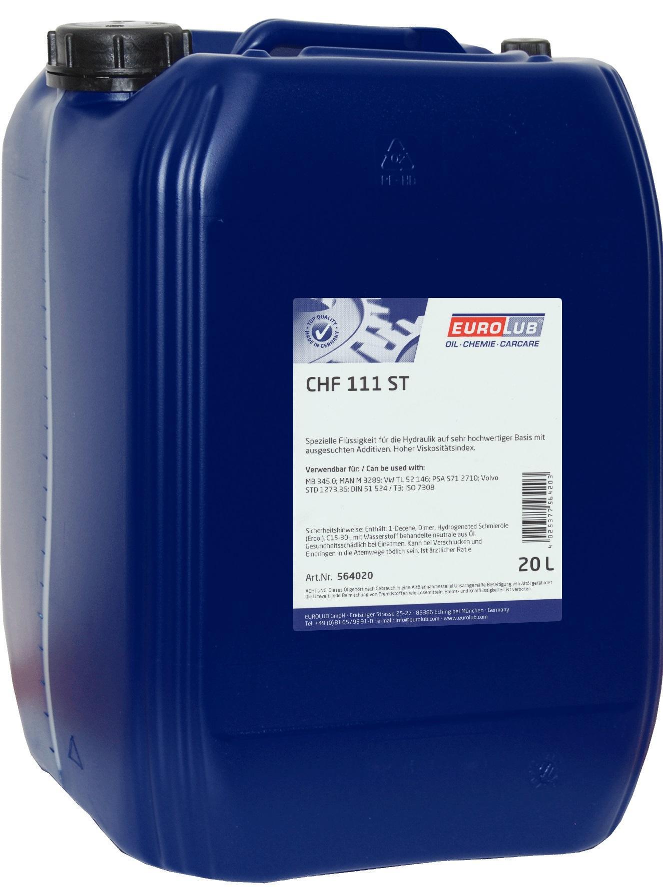 EUROLUB: Original Zentralhydrauliköl 564020 ()