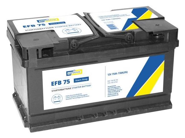 OE Original Autobatterie 40 27289 03012 8 CARTECHNIC