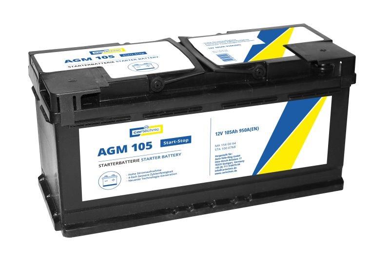BMW X4 2013 Autobatterie - Original CARTECHNIC 40 27289 03019 7 Kälteprüfstrom EN: 950A, Spannung: 12V