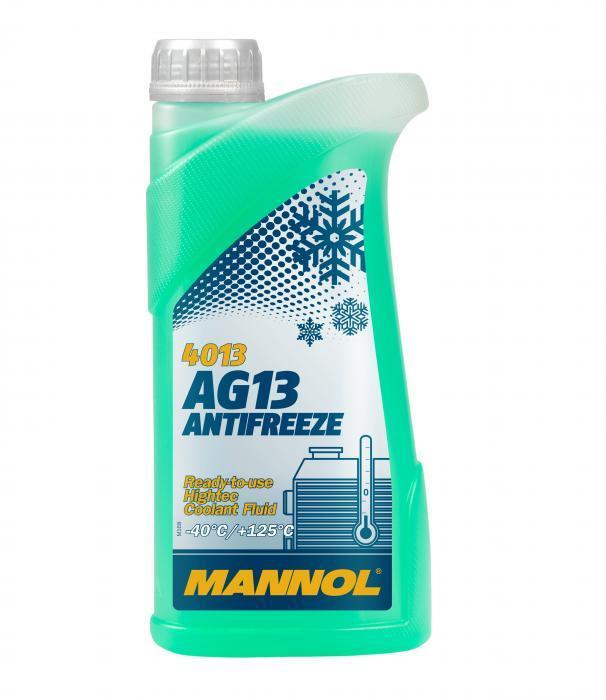 Frostschutzmittel Passat B7 Variant 2012 - MANNOL MN4013-1 (G11, Temperaturbereich von: -40°C)